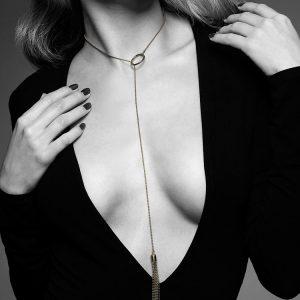 Bijoux Indiscrets The Magnifique: Halskette mit Minipeitsche