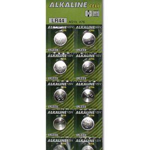 Knopfzellbatterien LR44 10er Blister