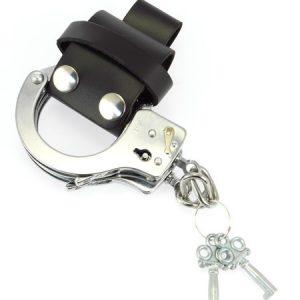 Leder-Handschellenhalter